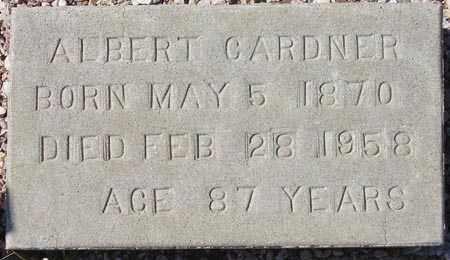 GARDNER, ALBERT - Maricopa County, Arizona | ALBERT GARDNER - Arizona Gravestone Photos