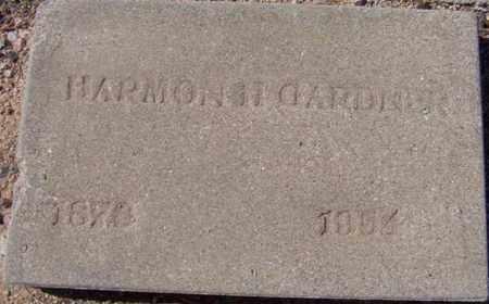GARDNER, HARMON H. - Maricopa County, Arizona | HARMON H. GARDNER - Arizona Gravestone Photos