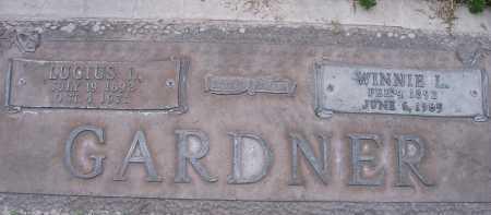 GARDNER, WINNIE - Maricopa County, Arizona | WINNIE GARDNER - Arizona Gravestone Photos