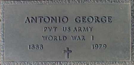 GEORGE, ANTONIO - Maricopa County, Arizona   ANTONIO GEORGE - Arizona Gravestone Photos
