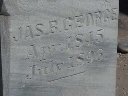 GEORGE, JAMES BENJAMIN - Maricopa County, Arizona | JAMES BENJAMIN GEORGE - Arizona Gravestone Photos