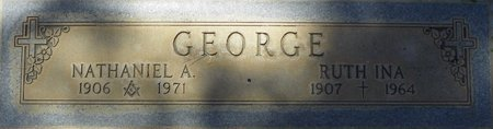 GEORGE, RUTH INA - Maricopa County, Arizona | RUTH INA GEORGE - Arizona Gravestone Photos