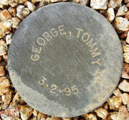 GEORGE, TOMMY - Maricopa County, Arizona | TOMMY GEORGE - Arizona Gravestone Photos