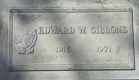 GIBBONS, EDWARD W - Maricopa County, Arizona | EDWARD W GIBBONS - Arizona Gravestone Photos