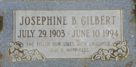 GILBERT, JOSEPHINE B - Maricopa County, Arizona | JOSEPHINE B GILBERT - Arizona Gravestone Photos