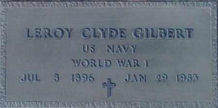 GILBERT, LE ROY - Maricopa County, Arizona   LE ROY GILBERT - Arizona Gravestone Photos