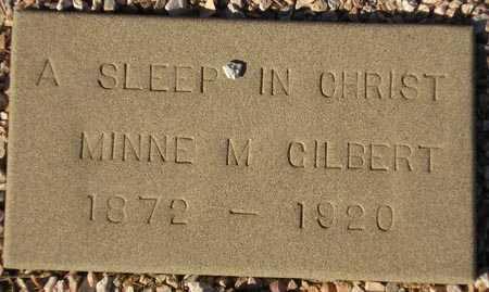 GILBERT, MINNE M. - Maricopa County, Arizona | MINNE M. GILBERT - Arizona Gravestone Photos