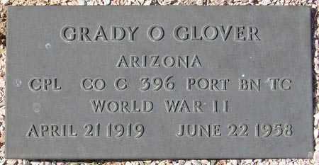 GLOVER, GRADY O. - Maricopa County, Arizona | GRADY O. GLOVER - Arizona Gravestone Photos