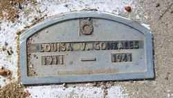 GONZALES, LOUISA V. - Maricopa County, Arizona | LOUISA V. GONZALES - Arizona Gravestone Photos