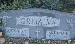 GRIJALVA, ANTONIO V. - Maricopa County, Arizona | ANTONIO V. GRIJALVA - Arizona Gravestone Photos