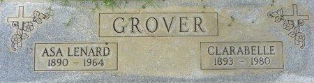 GROVER, ASA LENARD - Maricopa County, Arizona | ASA LENARD GROVER - Arizona Gravestone Photos