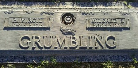GRUMBLING, H VIRGIL - Maricopa County, Arizona | H VIRGIL GRUMBLING - Arizona Gravestone Photos
