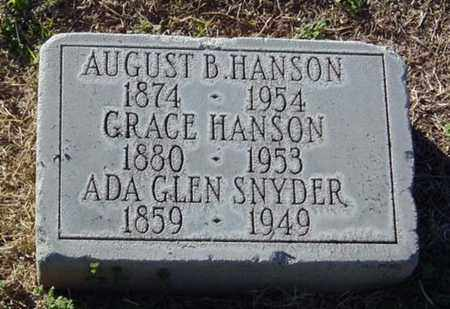 HANSON, GRACE - Maricopa County, Arizona | GRACE HANSON - Arizona Gravestone Photos