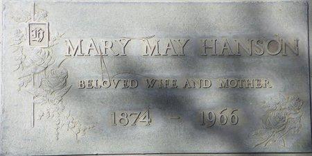 HANSON, MARY MAY - Maricopa County, Arizona   MARY MAY HANSON - Arizona Gravestone Photos