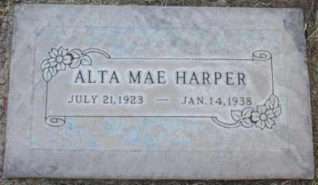 HARPER, ALTA MAE - Maricopa County, Arizona | ALTA MAE HARPER - Arizona Gravestone Photos
