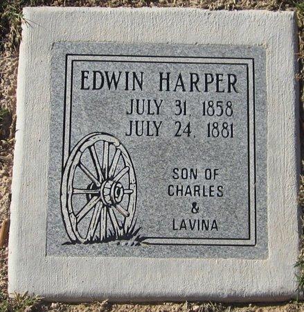 HARPER, EDWIN - Maricopa County, Arizona | EDWIN HARPER - Arizona Gravestone Photos
