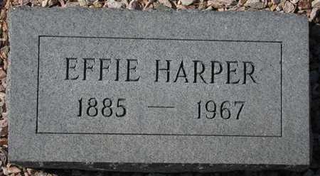 HARPER, EFFIE - Maricopa County, Arizona | EFFIE HARPER - Arizona Gravestone Photos