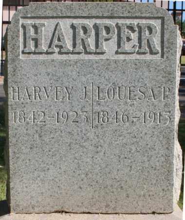 HARPER, LOUESA P - Maricopa County, Arizona   LOUESA P HARPER - Arizona Gravestone Photos