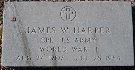 HARPER, JAMES W. - Maricopa County, Arizona   JAMES W. HARPER - Arizona Gravestone Photos