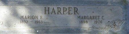 HARPER, MARION E - Maricopa County, Arizona | MARION E HARPER - Arizona Gravestone Photos