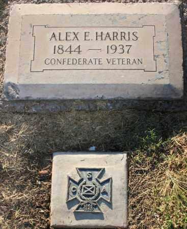 HARRIS, ALEX E - Maricopa County, Arizona | ALEX E HARRIS - Arizona Gravestone Photos