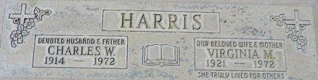 HARRIS, VIRGINIA M - Maricopa County, Arizona | VIRGINIA M HARRIS - Arizona Gravestone Photos