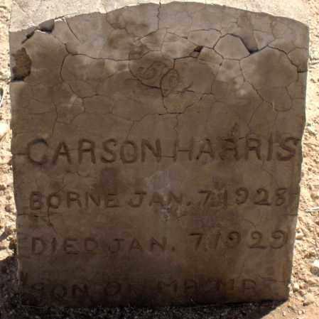 HARRIS, CARSON - Maricopa County, Arizona | CARSON HARRIS - Arizona Gravestone Photos