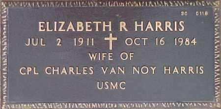 HARRIS, ELIZABETH R. - Maricopa County, Arizona | ELIZABETH R. HARRIS - Arizona Gravestone Photos
