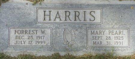 HARRIS, FORREST W - Maricopa County, Arizona | FORREST W HARRIS - Arizona Gravestone Photos