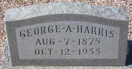 HARRIS, GEORGE A. - Maricopa County, Arizona | GEORGE A. HARRIS - Arizona Gravestone Photos