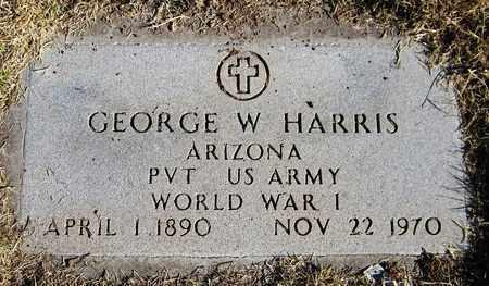 HARRIS, GEORGE W. - Maricopa County, Arizona | GEORGE W. HARRIS - Arizona Gravestone Photos
