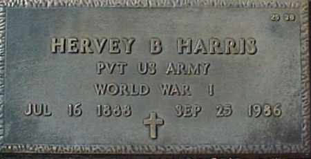 HARRIS, HERVEY B - Maricopa County, Arizona | HERVEY B HARRIS - Arizona Gravestone Photos