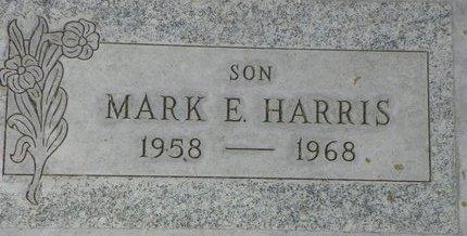 HARRIS, MARK E - Maricopa County, Arizona | MARK E HARRIS - Arizona Gravestone Photos