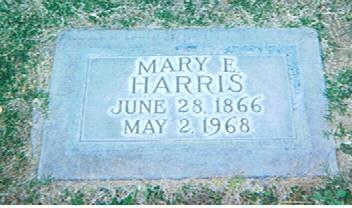 HARRIS, MARY EDNA - Maricopa County, Arizona | MARY EDNA HARRIS - Arizona Gravestone Photos