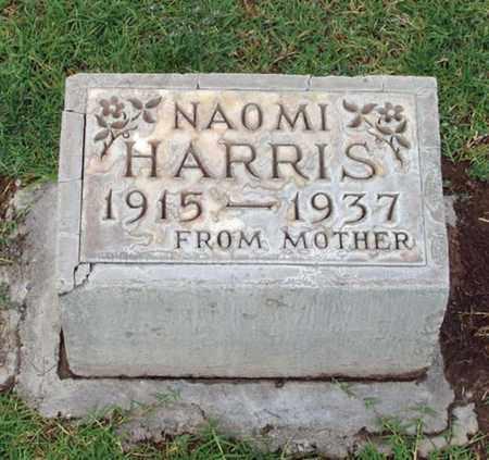 HARRIS, NAOMI ELIZABETH - Maricopa County, Arizona | NAOMI ELIZABETH HARRIS - Arizona Gravestone Photos