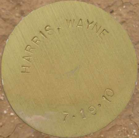HARRIS, WAYNE - Maricopa County, Arizona   WAYNE HARRIS - Arizona Gravestone Photos