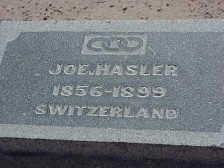 HASLER, JOE - Maricopa County, Arizona | JOE HASLER - Arizona Gravestone Photos