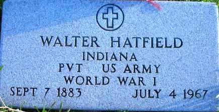 HATFIELD, WALTER E. - Maricopa County, Arizona   WALTER E. HATFIELD - Arizona Gravestone Photos