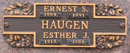 HAUGEN, ESTHER J - Maricopa County, Arizona | ESTHER J HAUGEN - Arizona Gravestone Photos