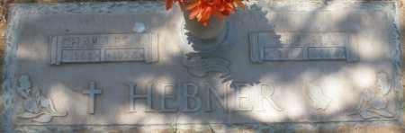 HEBNER, THELMA - Maricopa County, Arizona | THELMA HEBNER - Arizona Gravestone Photos