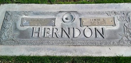 BODE HERNDON, EMMA LOUISE - Maricopa County, Arizona | EMMA LOUISE BODE HERNDON - Arizona Gravestone Photos