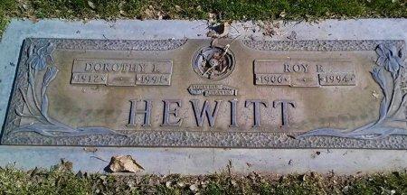 HEWITT, ROY E. - Maricopa County, Arizona | ROY E. HEWITT - Arizona Gravestone Photos