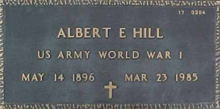 HILL, ALBERT E. - Maricopa County, Arizona | ALBERT E. HILL - Arizona Gravestone Photos