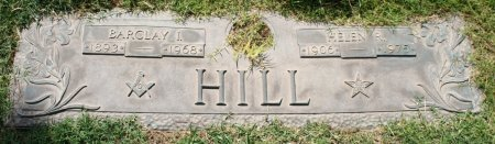 HILL, BARCLAY I - Maricopa County, Arizona | BARCLAY I HILL - Arizona Gravestone Photos