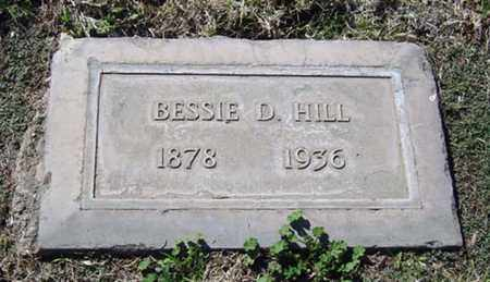 HILL, BESSIE - Maricopa County, Arizona | BESSIE HILL - Arizona Gravestone Photos