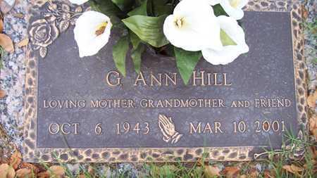 HILL, G. ANN - Maricopa County, Arizona | G. ANN HILL - Arizona Gravestone Photos