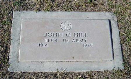 HILL, JOHN OLVO OWEN - Maricopa County, Arizona | JOHN OLVO OWEN HILL - Arizona Gravestone Photos