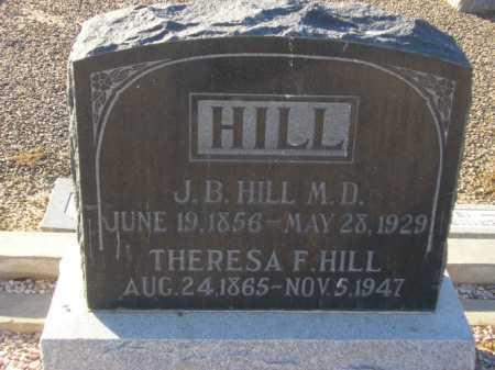 HILL, THERESA F. - Maricopa County, Arizona | THERESA F. HILL - Arizona Gravestone Photos