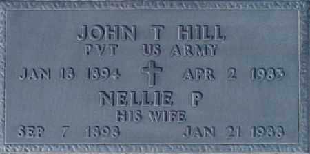 HILL, JOHN T - Maricopa County, Arizona | JOHN T HILL - Arizona Gravestone Photos