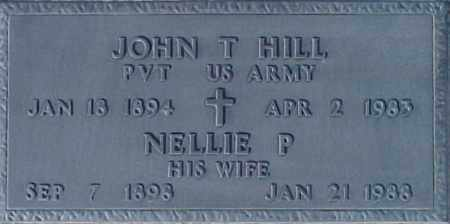 HILL, NELLIE P - Maricopa County, Arizona | NELLIE P HILL - Arizona Gravestone Photos